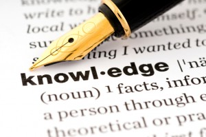 Knowledge Home page